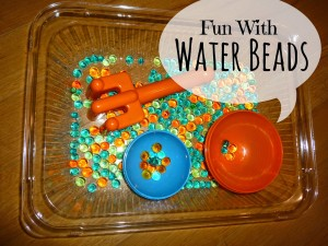 Water Bead Exploration