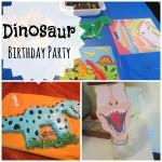 Dinosaur Themed First Birthday