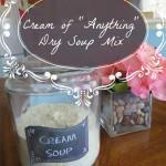 "Cream of ""Anything"" Dry Soup Mix"