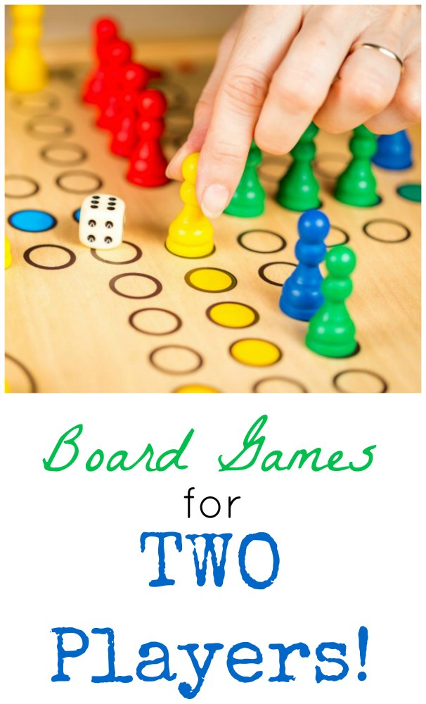 Board Games for Two People (Or More)