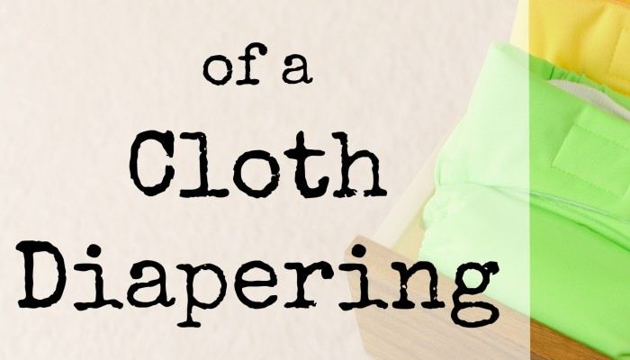 Confessions of a Half-Hearted Cloth Diapering Mama