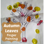 Autumn Craft Fingerprint Trees