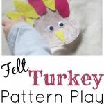 Felt Turkey Pattern Play S