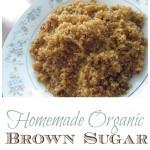 Homemade Organic Brown Sugar