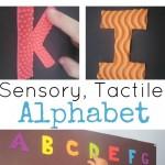 Sensory, Tactile Alphabet Poster