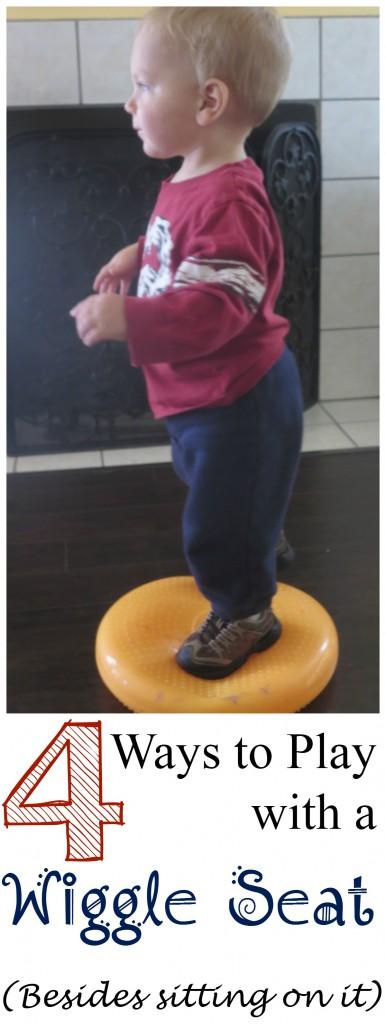 Wiggle Seat for sensory input