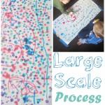 Large Scale Process Art