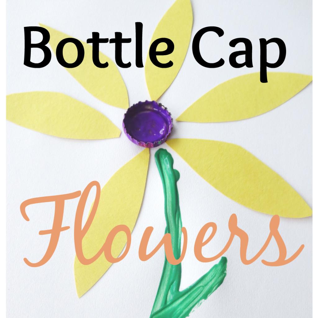 Bottle Cap Flowers Craft S