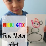 Wikki Stix Fine Motor Art