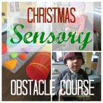 Activity for the Jesus Storybook Bible: The Wise Men Sensory Obstacle Course