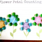 Plant Theme: Preschool Math Flower Petal Counting (Free Printable!)
