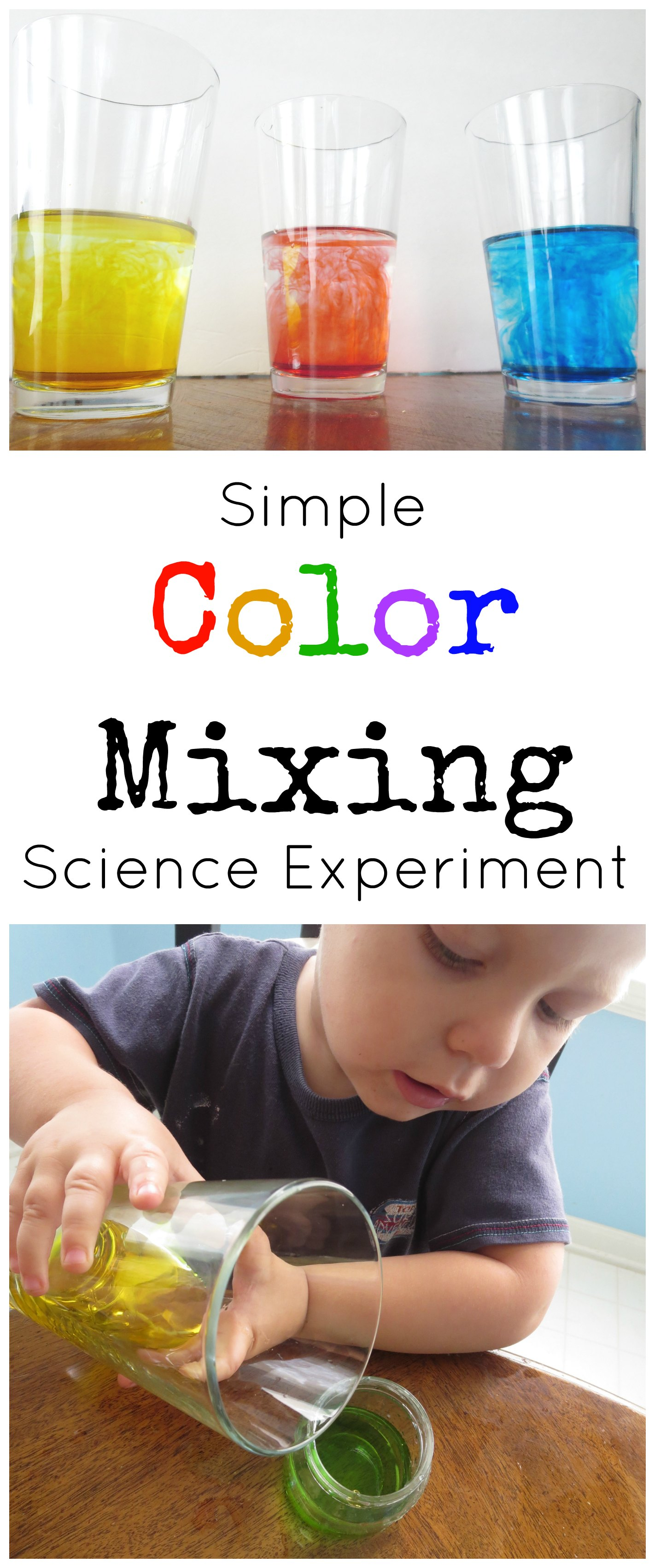 easy science experiments for preschool simple color mixing science experiments for preschoolers 258