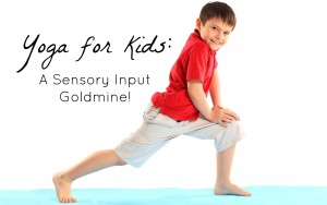 yoga for kids with SPD