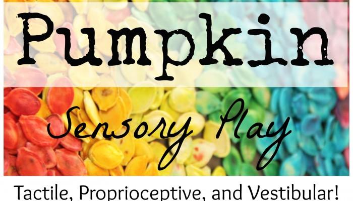 Pumpkin Sensory Play