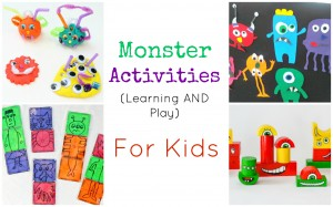 Monster Activities for Preschoolers