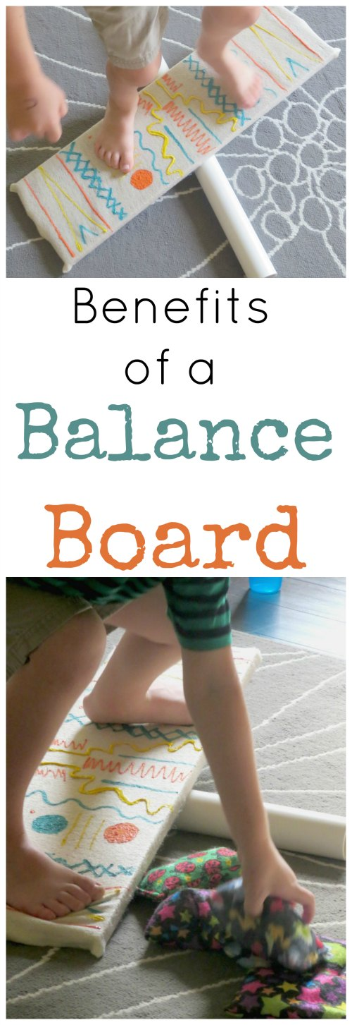 the benefits of using a balance board with kids. Black Bedroom Furniture Sets. Home Design Ideas