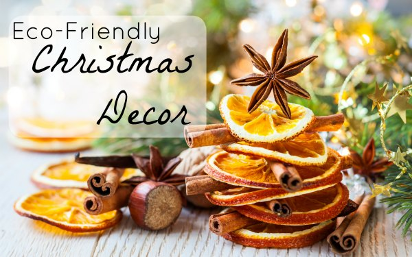 Eco friendly christmas decor Environmentally friendly decorations