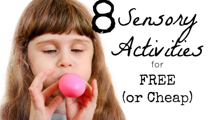 8 Unbelievably Fun, Calming Sensory Activities for Free or Cheap