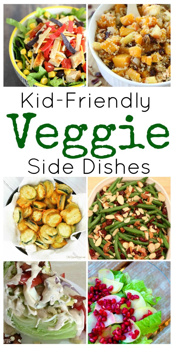 This collection of veggie side dishes and main dishes that sneak in veggies is worth a try on stubborn diners. When possible, let kids help out in the kitchen, challenge them to try new foods by taking them to the store and letting them pick a new veggie to try, or offer vegetables in new ways.