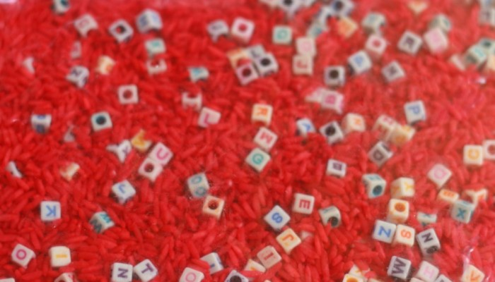 Letter Hunt Alphabet Sensory Bag