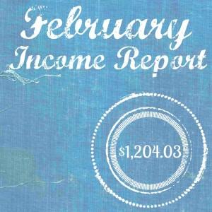Income Report Feb 2016