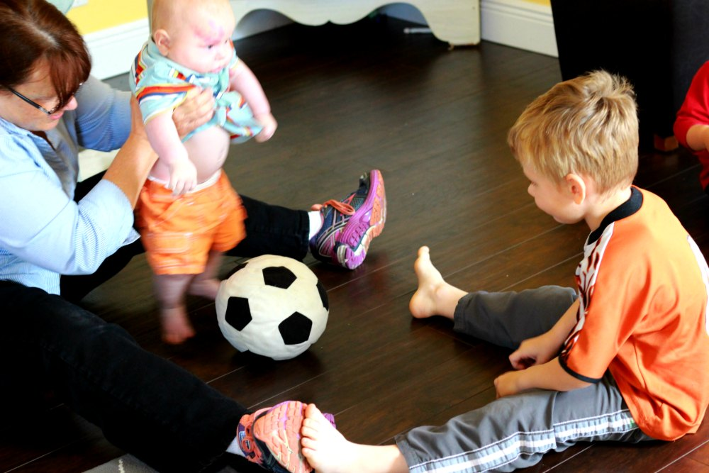 Simple Home Exercises for Babies