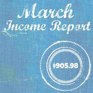 Income Report Mar 16