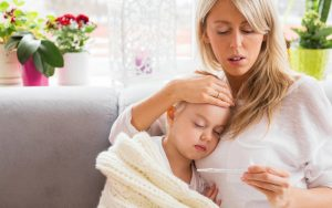 Caring for Friends Who have Sick Kids