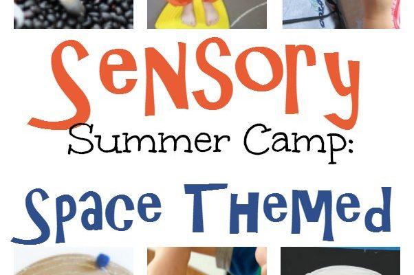 DIY Sensory Summer Camp: Space Theme
