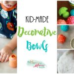 Kid-Made Decorative Bowls