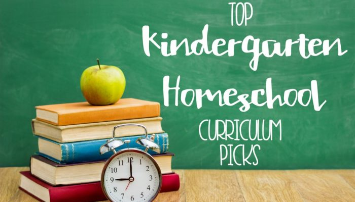 Our Kindergarten Homeschool Curriculum Choices