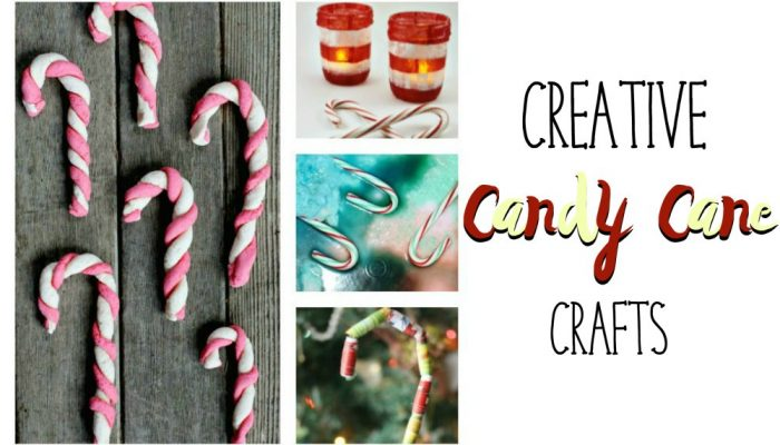 Creative Candy Cane Crafts