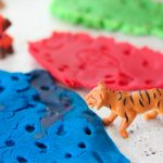 Fossil Hunt Play Dough Game
