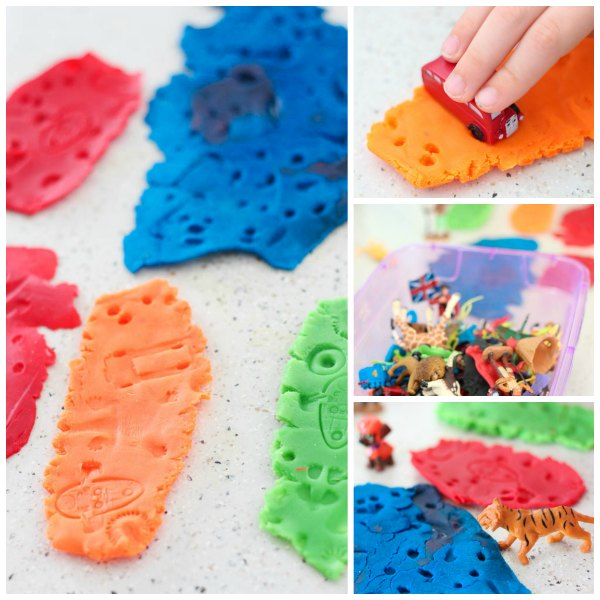 fossil-play-dough-impressions