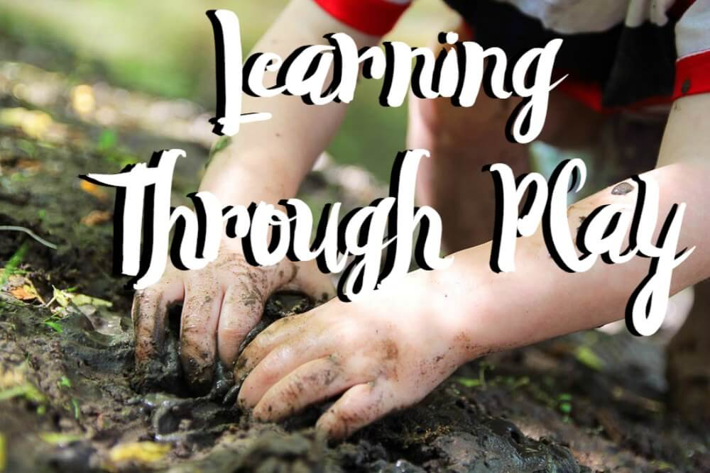 Learning Through Play Front Page