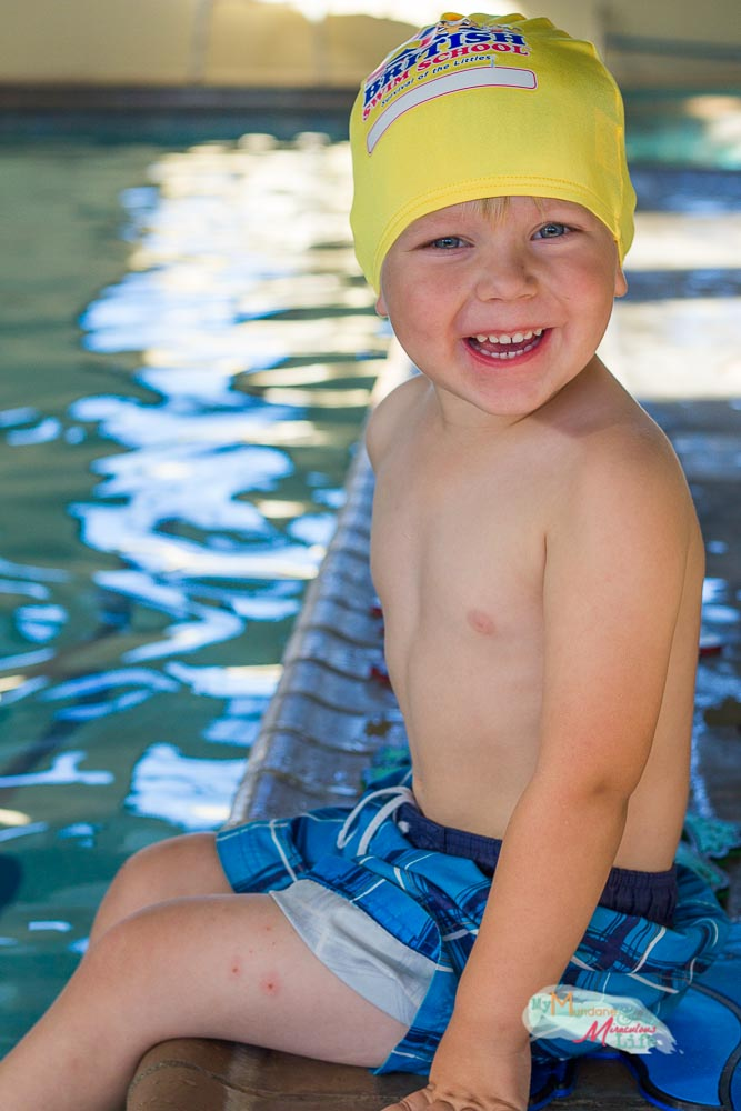 Teaching even your youngest kids to swim for Little fishes swim school
