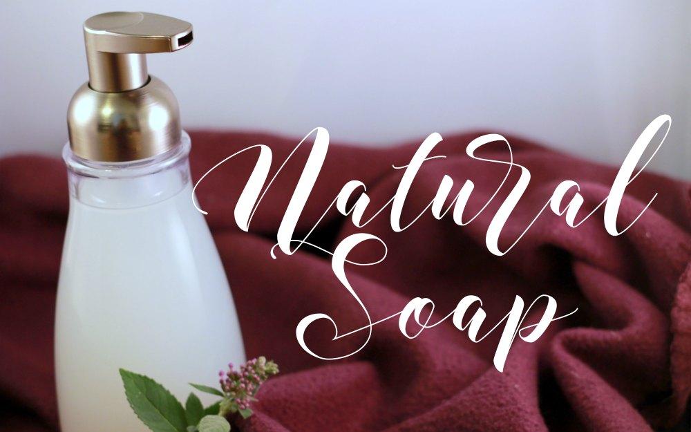 Natural Foaming Hand Soap FB