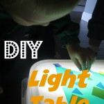 A Cheap DIY Light Table