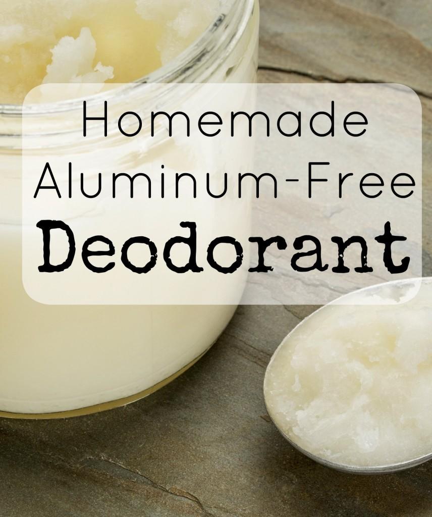 homemade aluminum free deodorant pin