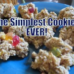 Cooking Kids: The Simplest Cookies On The Planet