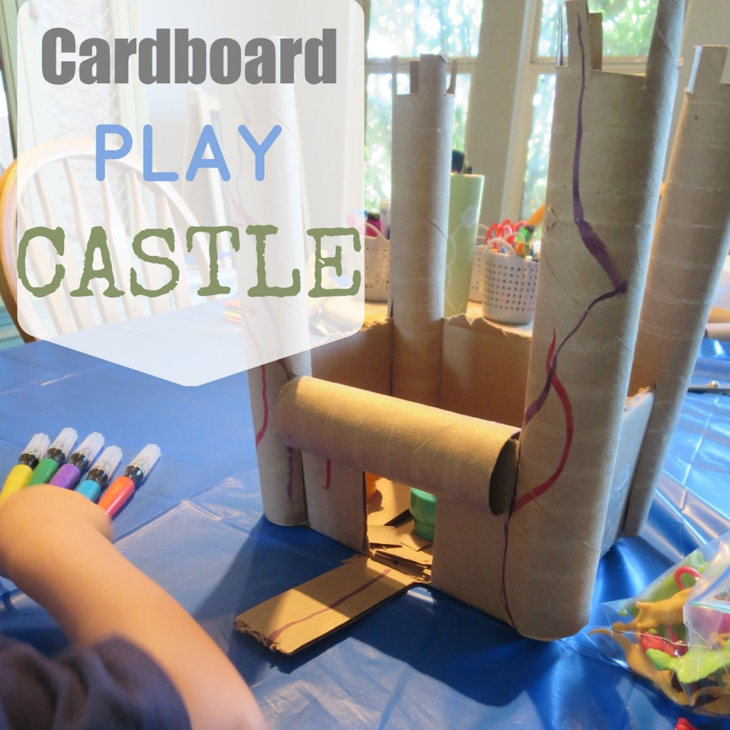 Cardboard Play Castle S