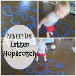 Letter Hopscotch