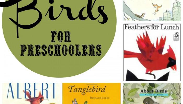 Books about Birds for Preschool