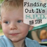 Finding Out It's Sensory Processing Disorder