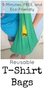 Hippy Tip Tuesdays: Reusable T-Shirt Bags