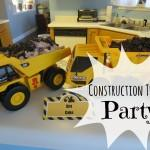 Construction Themed Third Birthday