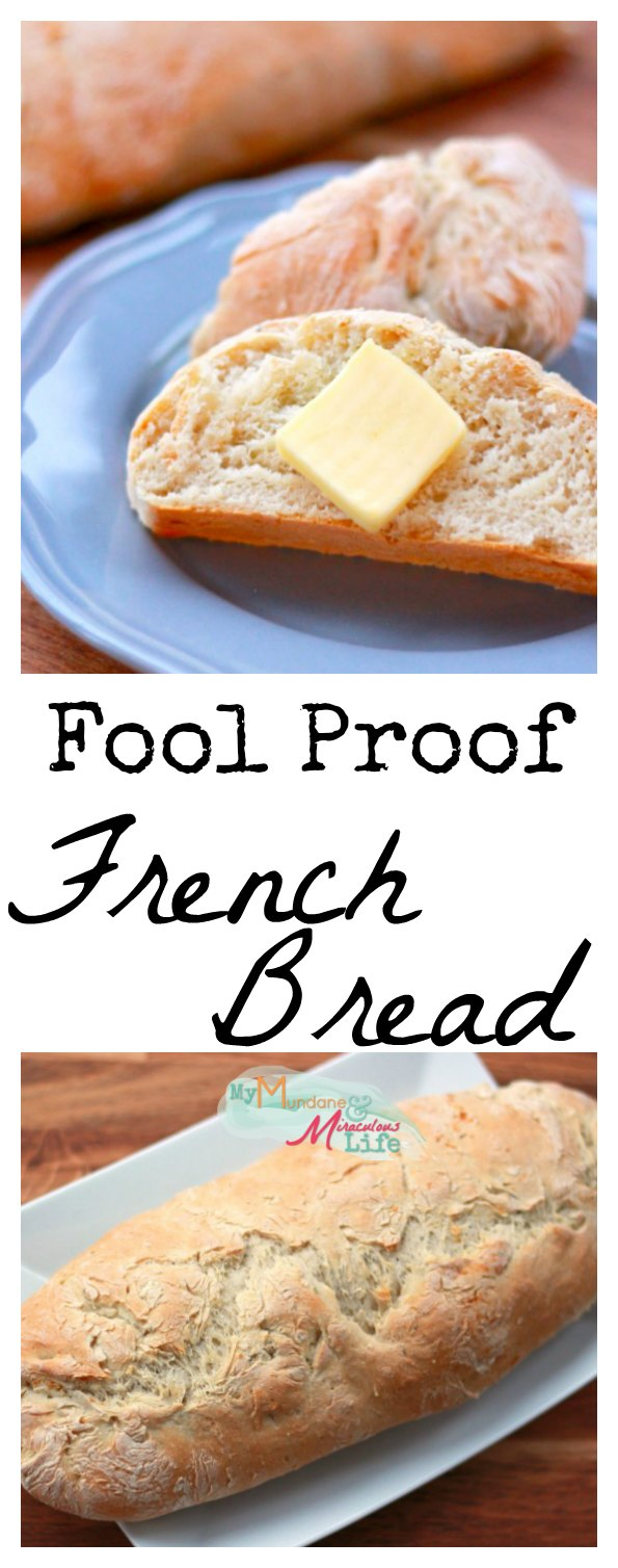 Four Ingredient Easy French Bread