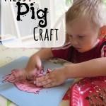 Farm Unit: Messy Pig Craft