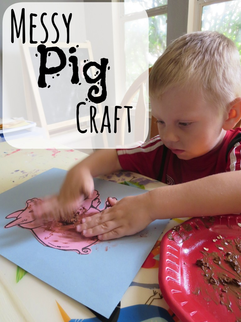 Messy Pig Craft
