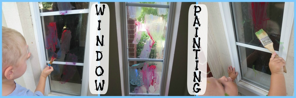 Window Painting Collage